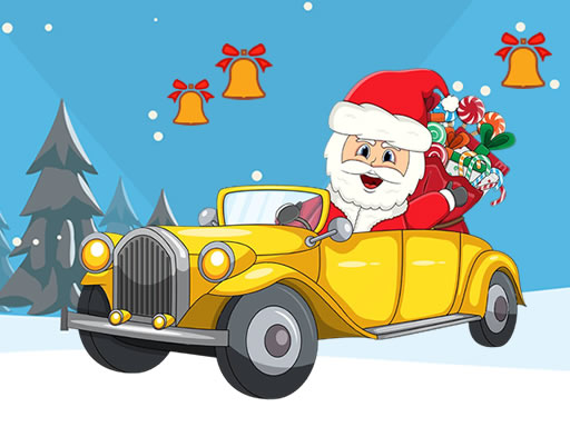 لعبة Christmas Cars Find The Bells