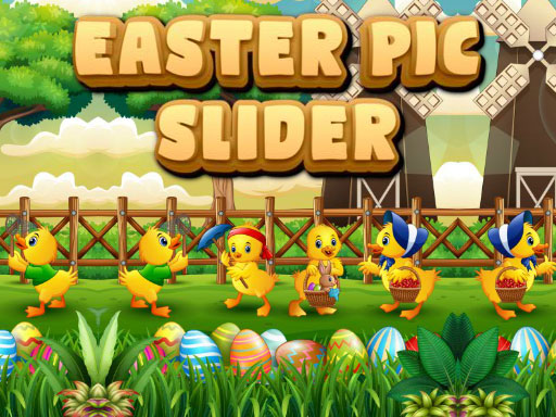 لعبة Easter Pic Slider