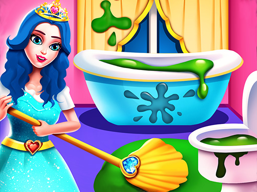 لعبة Princess Home Cleaning