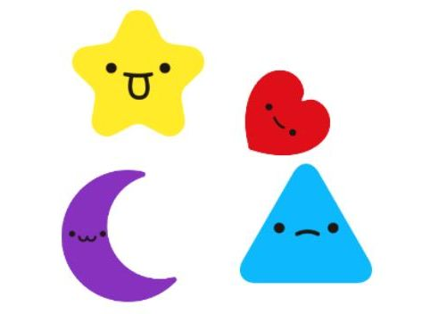لعبة Smiley Shapes