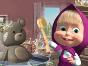 Doll and The Bear Cleaning