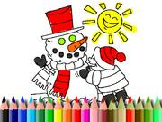 Winter Time Coloring